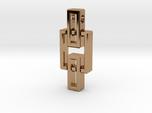 Pendant - Interlocking rectangles