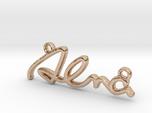 ALMA Script First Name Pendant
