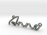 ANNE Script First Name Pendant