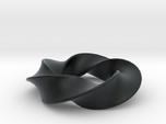 Python 3-5 Torus Knot Pendant