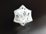 Curlicue 20-Sided Dice