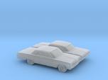 1/160 2X 1964 Chevrolet Impala Coupe