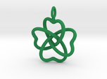 Heart Petals 4 Leaf Clover - 3.3cm - wLoopet