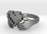 8bit Claddagh Ring