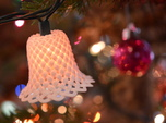 Woven Chistmas Light Bell
