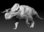 Nasutoceratops 1:40 scale model