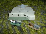German Regelbau 446 Gun Director Bunker 1/285