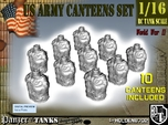 1-16 X10 US M1910 Canteens