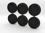 Deago Falcon  Engine Vents & Fan Blades Magnetic b