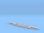 SRB Train QTTX 8-Axle 195 Ton Flatcar 1:160