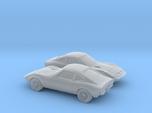 1/160 2X 1968-73 Opel GT