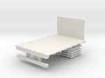 Stake Bed Truck Solid Bed 1-64 Scale