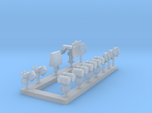 1:350 Scale Modern Aircraft Carrier Radars