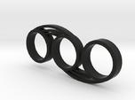 Bi-Swirl Fidget Spinner
