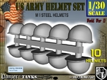 1-30 US M1 Helmets Set1