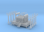 Power Station Transformer N Scale