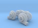 """Mirrored 1/25 Turbo pair 64mm (2.5"""")"""
