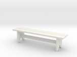 Bench, Simple Wooden, 1/32 Scale