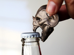 Vampire Head Bottle Opener