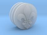 Fleur de Lis Icons 17.5mm (x3)