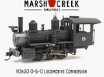 HOn30 0-6-0/ 2-6-2 Conversion Kit