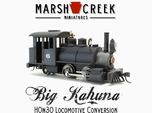 HOn30 0-4-2 Locomotive BIG KAHUNA