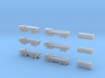 HEMTT Tanker & Cargo Truck Convoy 1/350 Scale