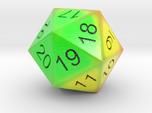 HP Bar heat signature 20 sided countdown dice