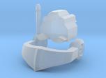 Nautical Femmebot head (Clear FUD/FED parts)