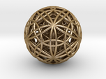 IcosaDodecasphere w Stel Icosidodeca 30 pt star