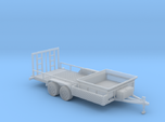 Dump Trailer Long 1-87 HO Scale