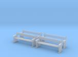 TJ-H04556x4 - bancs de quai en bois