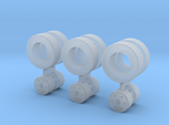 1/87 HO trailer wheel set 3