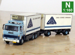 Scania 141 refrigerated lorry 1:160 scale