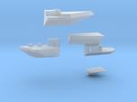 1:350 Scale USS Carl Vinson (1984-1991) Sponson Up
