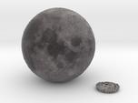 5cm Color Lunar Globe