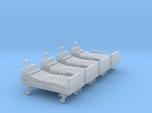 Hospital Bed 01. N Scale (1:160)