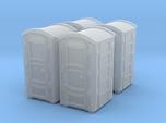 Portable Toilet 01. Z Scale (1:220)