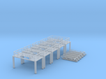 N Scale 5x Refinery Stairs (modular)