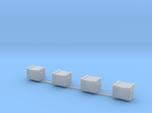 Docking Bay - four crates, 1:72