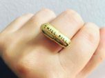 CHILL PILL RING
