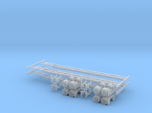 N 53' Container Chassis 4.Pack