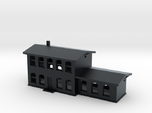 Train station - T scale - 1:450