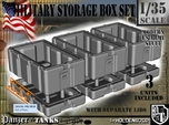1-35 Military Storage Box Set