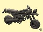 28mm Moped model 3 (X5)