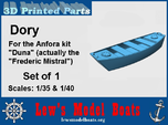 Frederic Mistral Dory, 1/35 & 1/40 scales