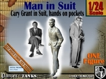 1-24 Cary Grant In Suit Hands Pockets