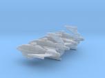1/1000 Skipray Blastboat set of 4