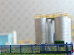 N Scale Fence 12x65mm