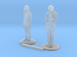 S Scale People Standing